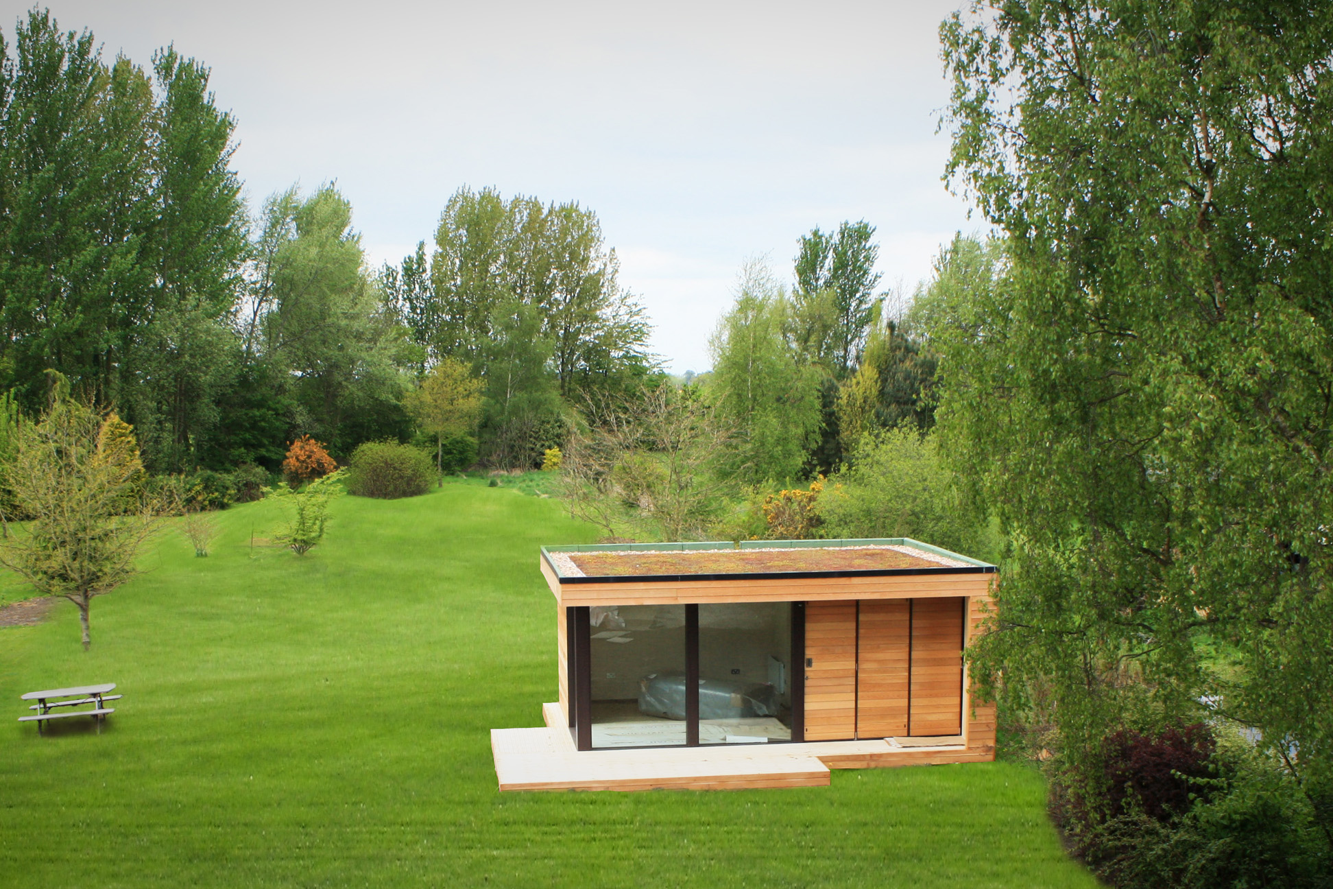 Garden rooms for Garden studio uk