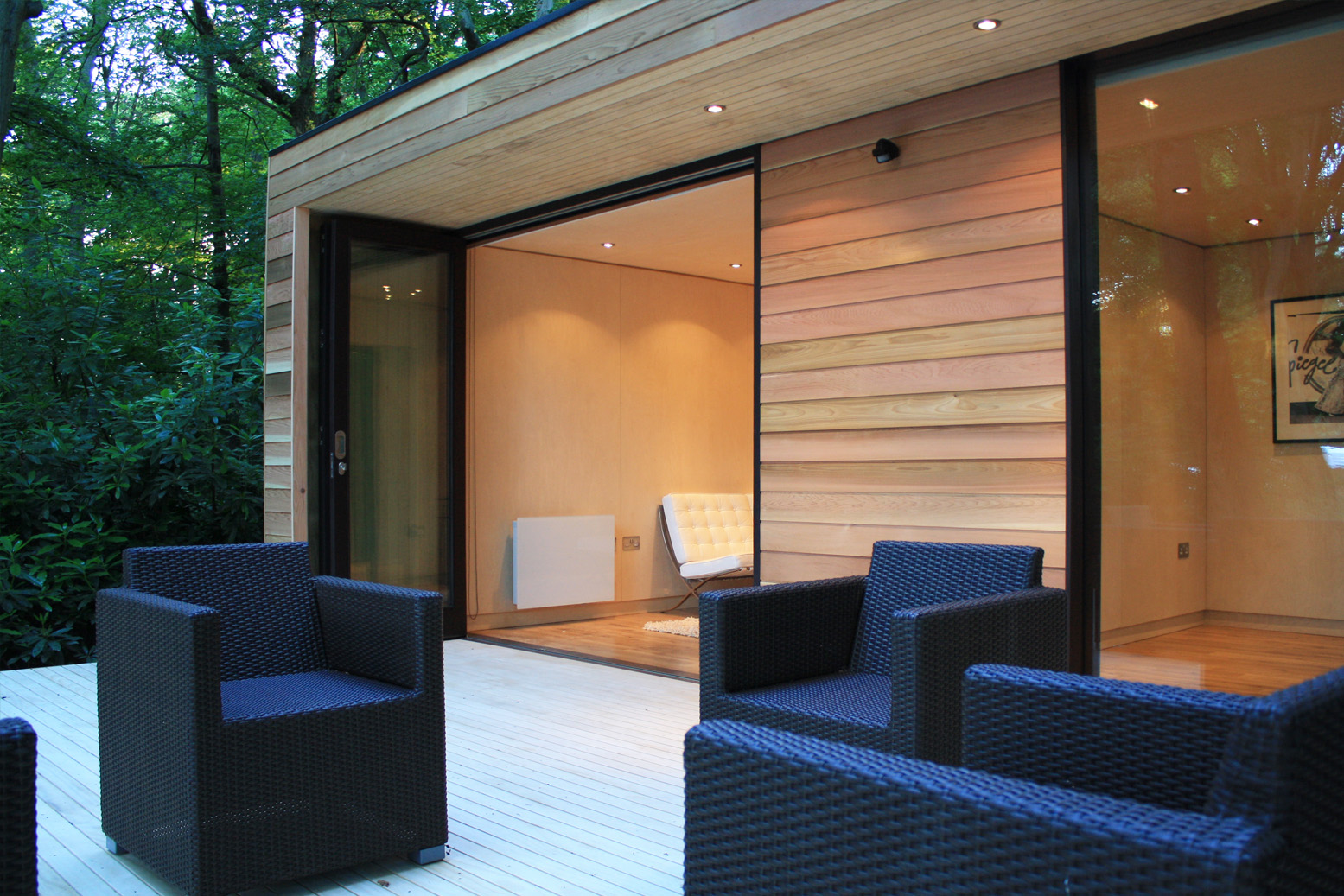 Garden rooms for Wooden studios for gardens