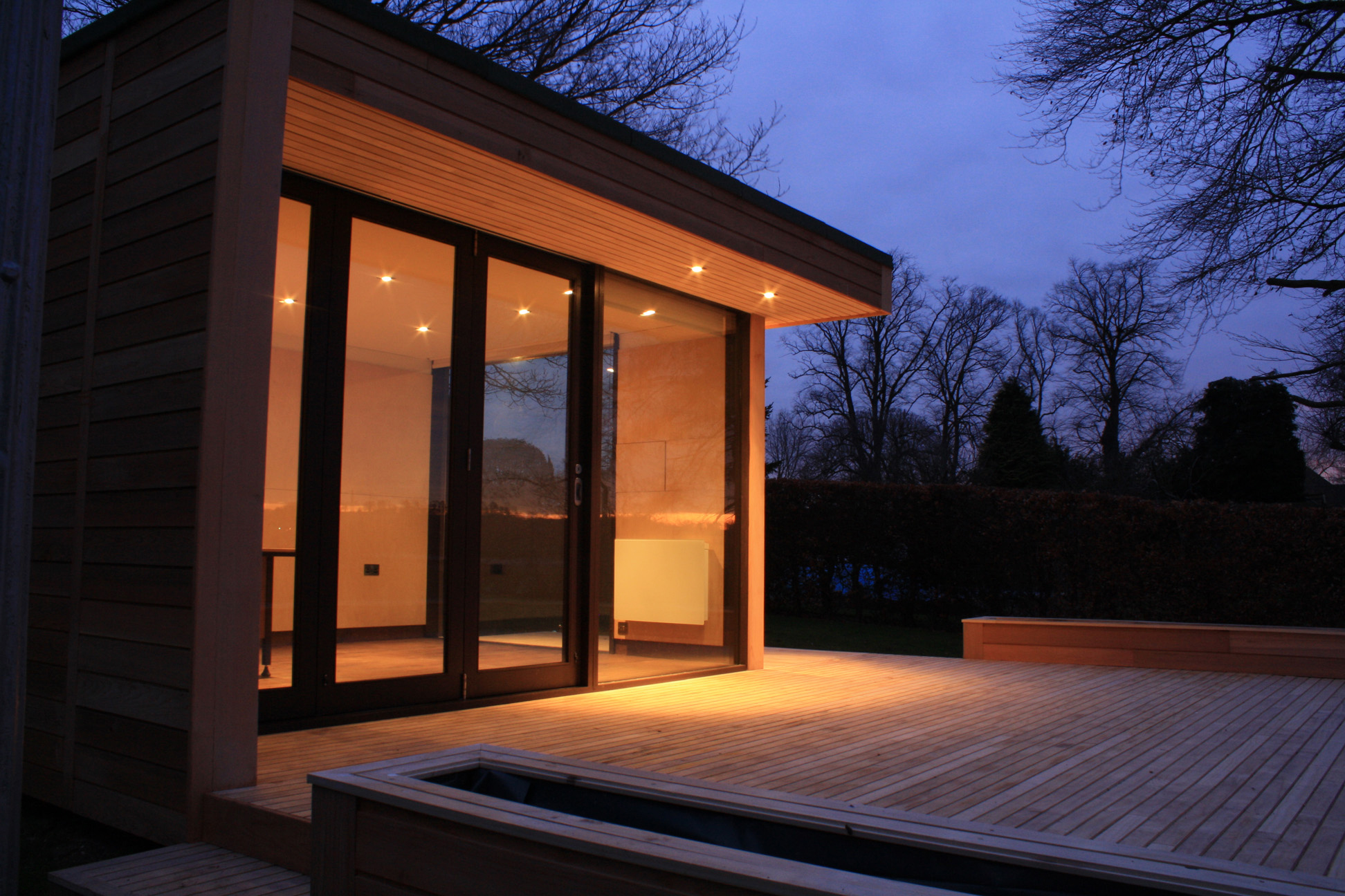 Garden rooms for Timber garden rooms