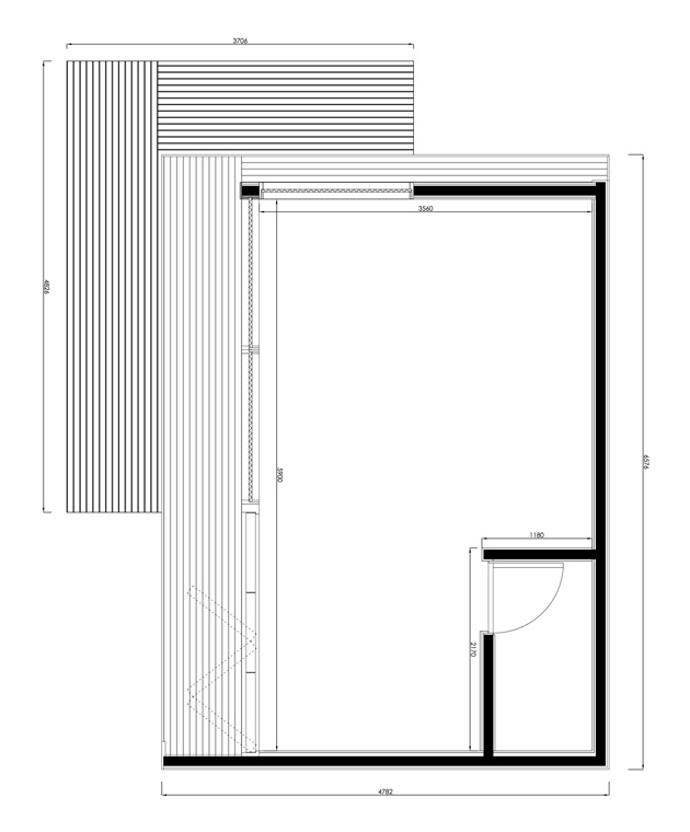Garden_Studio_Size_30sqm - plan